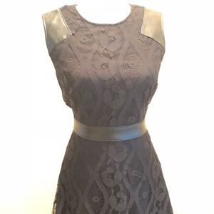 Marc New York Black Lace Dress